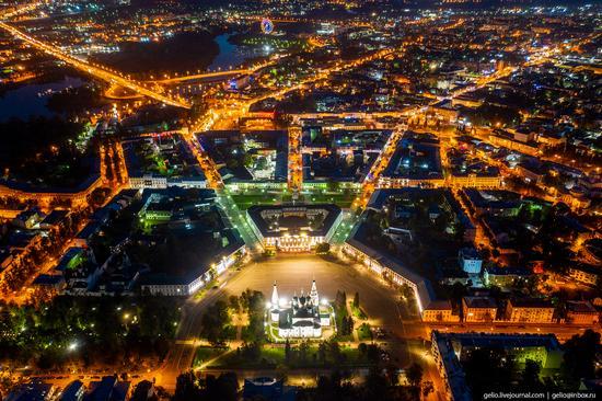 Yaroslavl, Russia from above, photo 10
