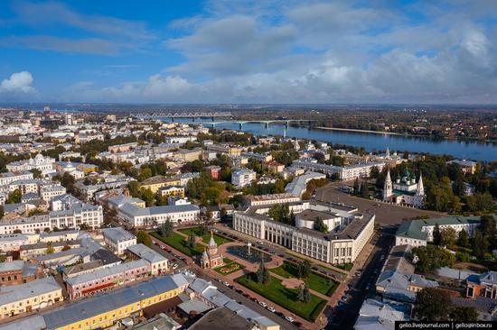 Yaroslavl, Russia from above, photo 12