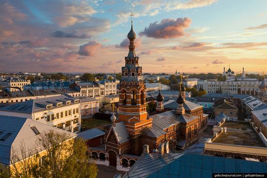 Yaroslavl, Russia from above, photo 13