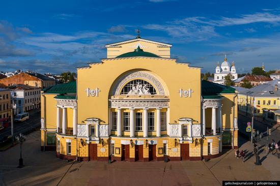 Yaroslavl, Russia from above, photo 14