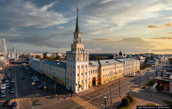 Yaroslavl, Russia from above, photo 15