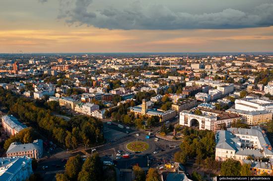 Yaroslavl, Russia from above, photo 16