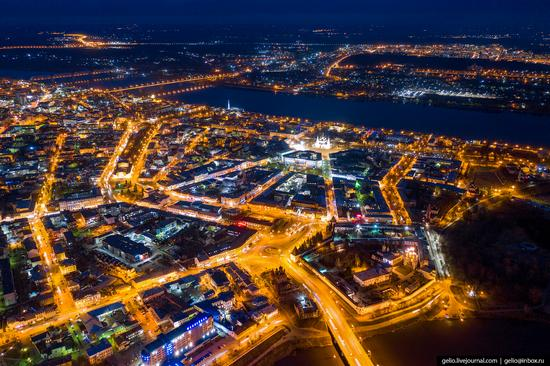 Yaroslavl, Russia from above, photo 2