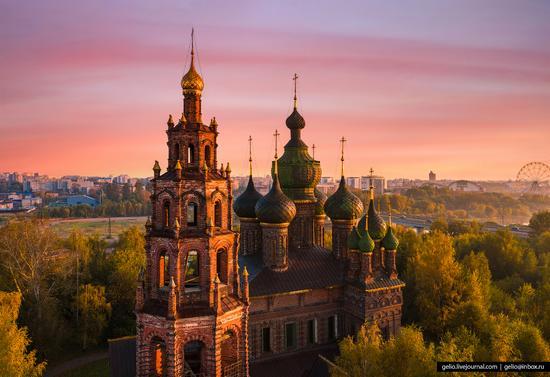 Yaroslavl, Russia from above, photo 20