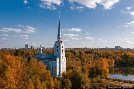 Yaroslavl, Russia from above, photo 22