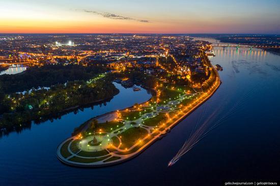 Yaroslavl, Russia from above, photo 4