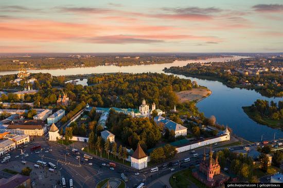 Yaroslavl, Russia from above, photo 6