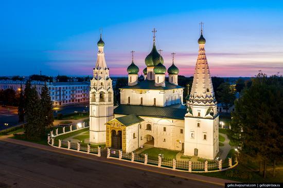 Yaroslavl, Russia from above, photo 9