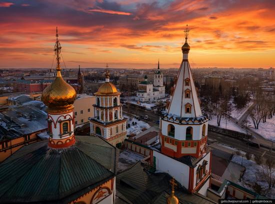 Irkutsk, Russia - the view from above, photo 1