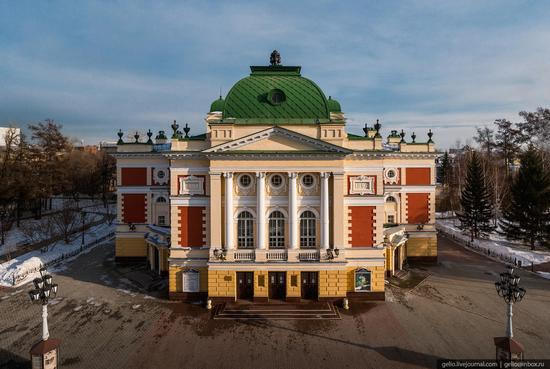 Irkutsk, Russia - the view from above, photo 11