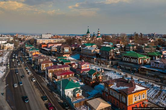 Irkutsk, Russia - the view from above, photo 13