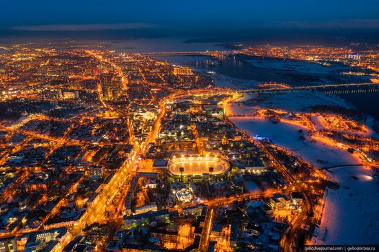 Irkutsk, Russia - the view from above, photo 18