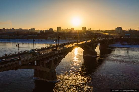 Irkutsk, Russia - the view from above, photo 2