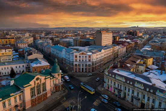 Irkutsk, Russia - the view from above, photo 21