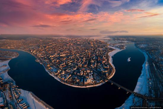 Irkutsk, Russia - the view from above, photo 22