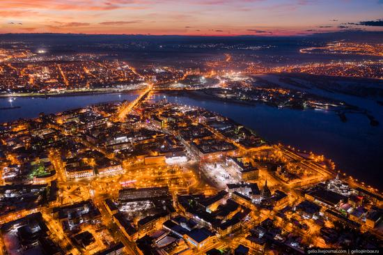 Irkutsk, Russia - the view from above, photo 3