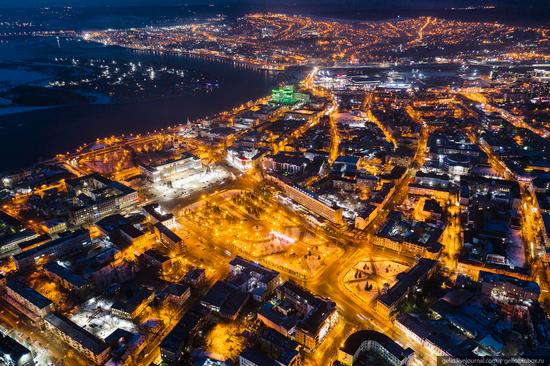 Irkutsk, Russia - the view from above, photo 5