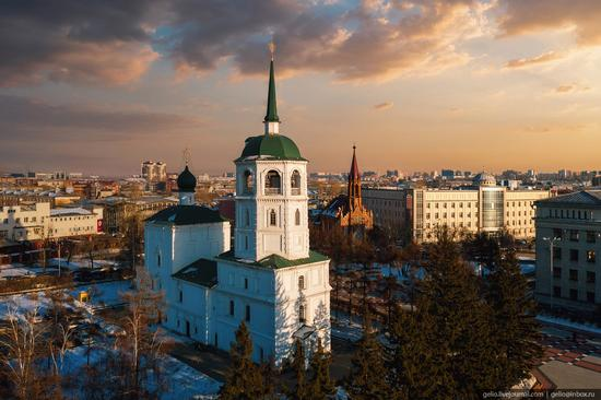 Irkutsk, Russia - the view from above, photo 7