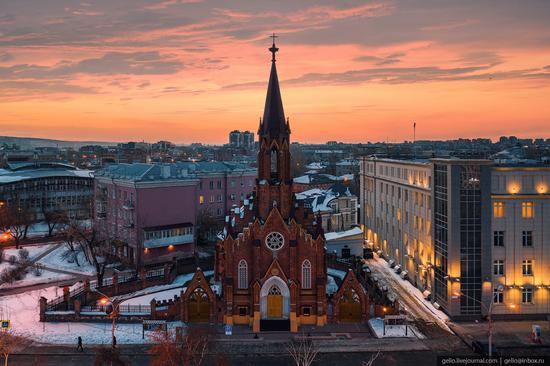 Irkutsk, Russia - the view from above, photo 8