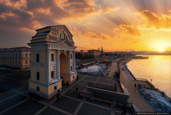 Irkutsk, Russia - the view from above, photo 9