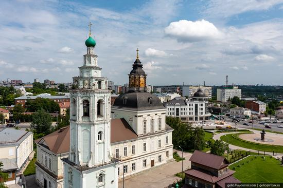 Tula city, Russia from above, photo 13