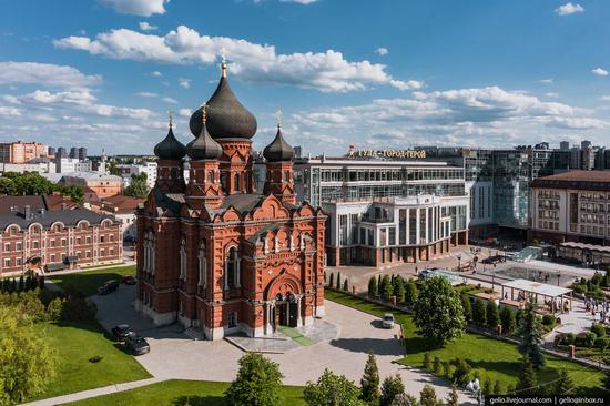 Tula city, Russia from above, photo 14