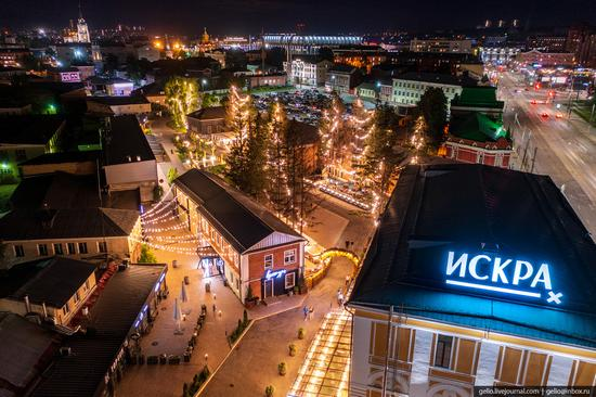 Tula city, Russia from above, photo 17