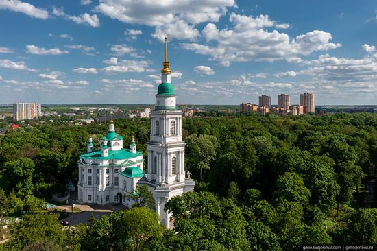 Tula city, Russia from above, photo 19