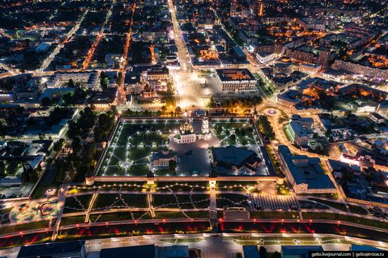Tula city, Russia from above, photo 23