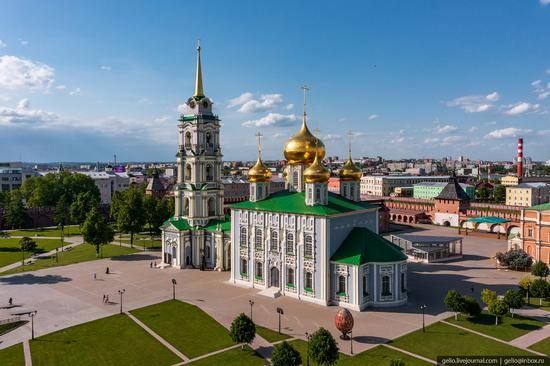 Tula city, Russia from above, photo 4