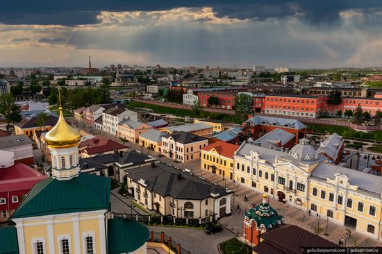 Tula city, Russia from above, photo 8