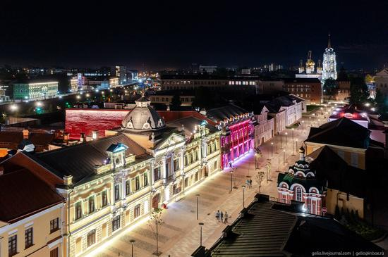 Tula city, Russia from above, photo 9