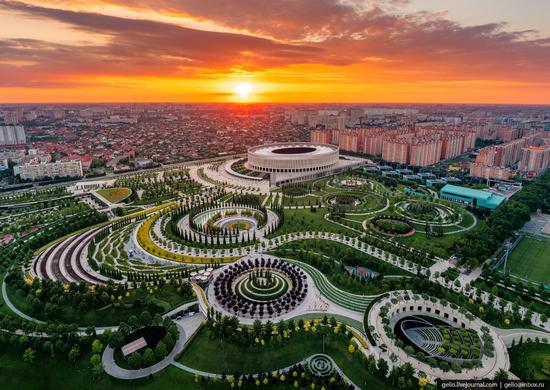 Park Krasnodar - one of the best parks in Russia, photo 1