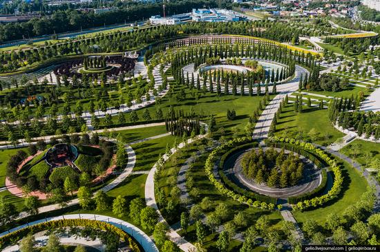 Park Krasnodar - one of the best parks in Russia, photo 12