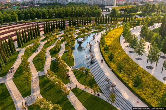 Park Krasnodar - one of the best parks in Russia, photo 3