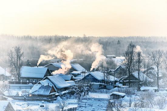 Winter in Russia, photo 1