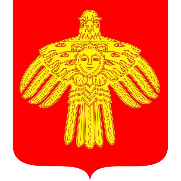 Wappen coat of arms Komi