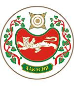 Wappen coat of arms Chakassien Khakassia