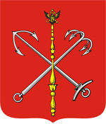 Saint Petersburg city coat of arms