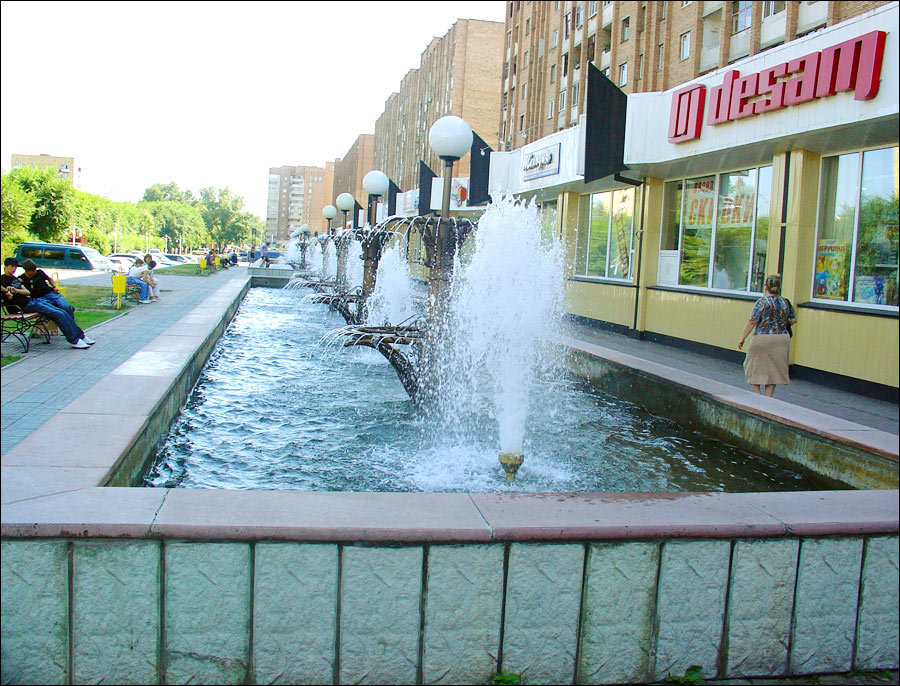 Abakan Russia  city images : abakan russia city fountains