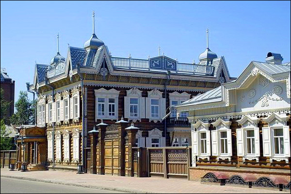 Irkutsk city russia travel guide for Houses images pictures