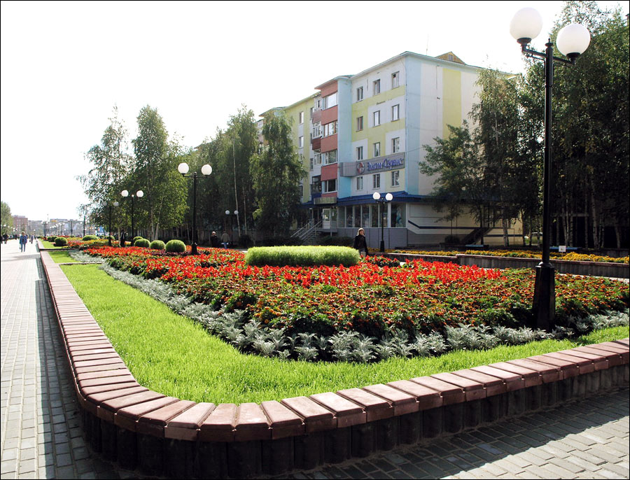Nefteyugansk city scenery