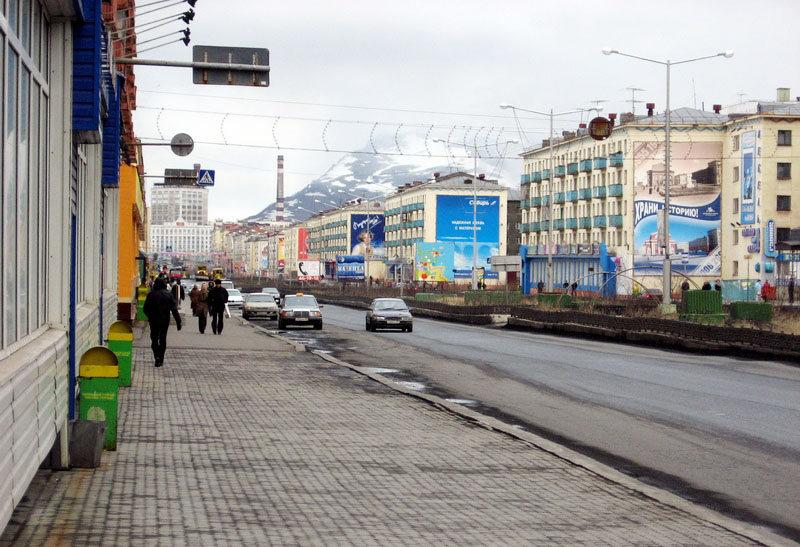 Norilsk city Russia guide