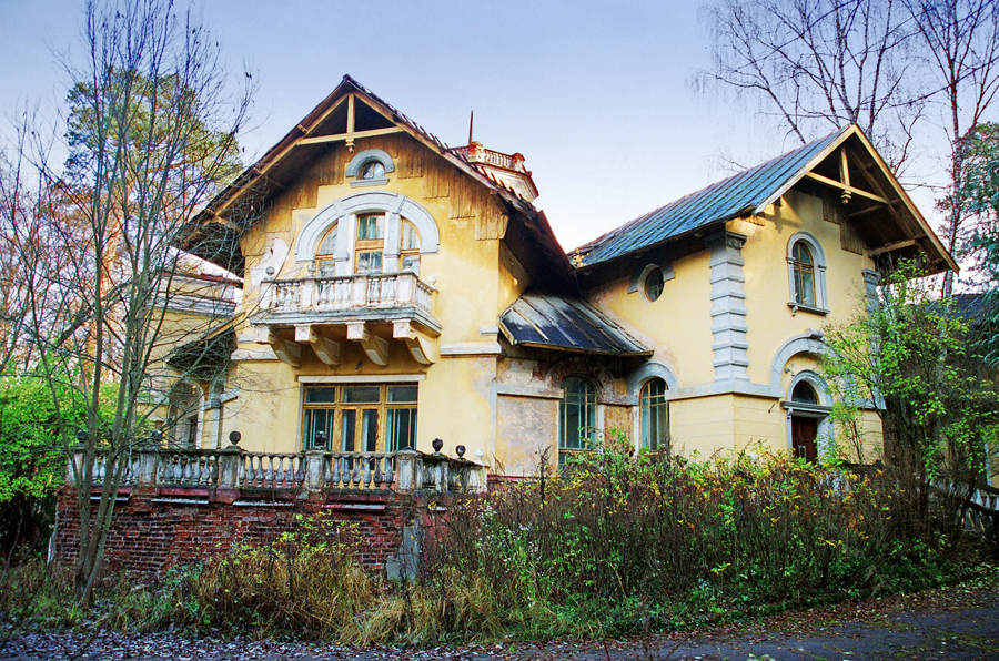 Obninsk Russia  city pictures gallery : obninsk russia city mansion