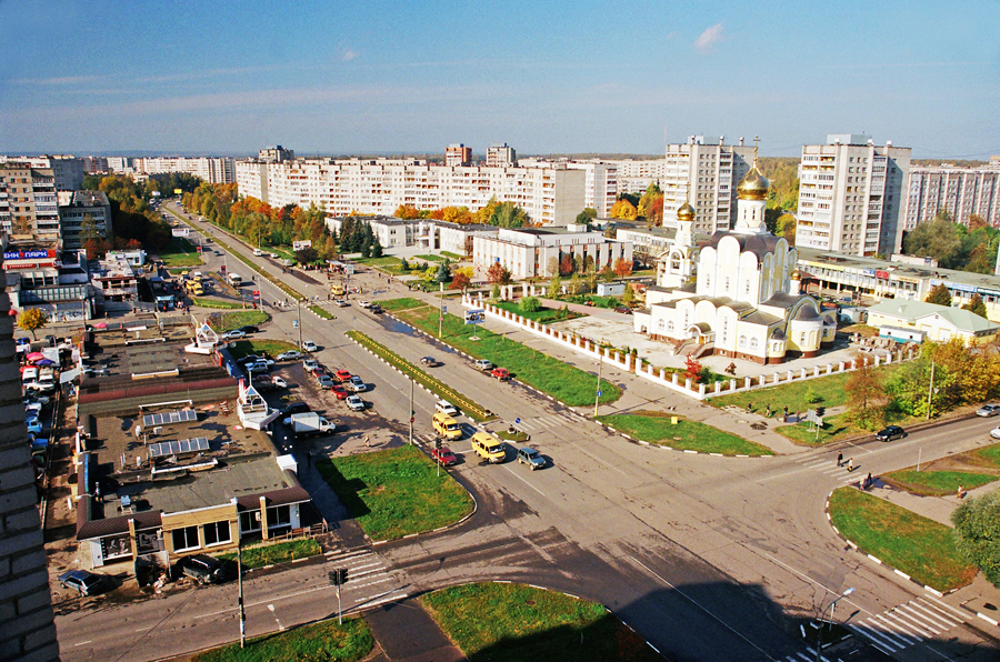 Obninsk city, Russia street view
