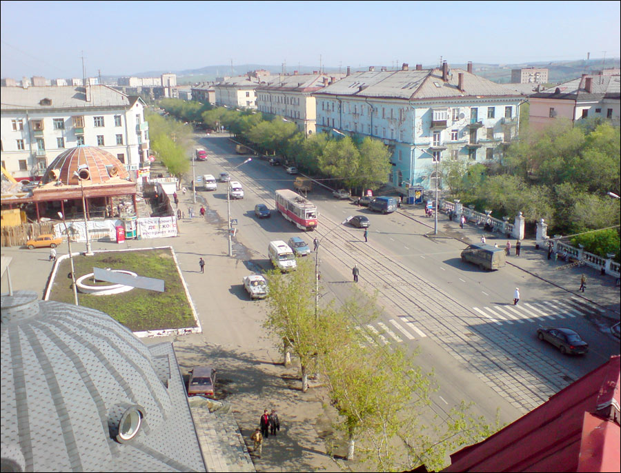 Orsk city, Russia street view
