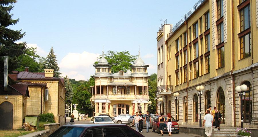 картинки улицы в городе пятигорск разделители