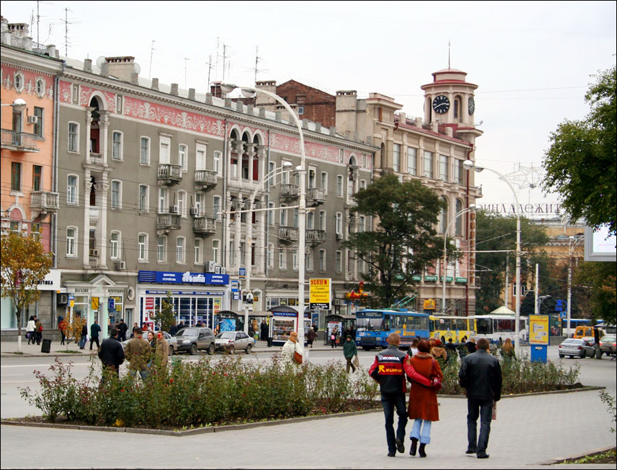 Rostov-on-Don city, Russia street view