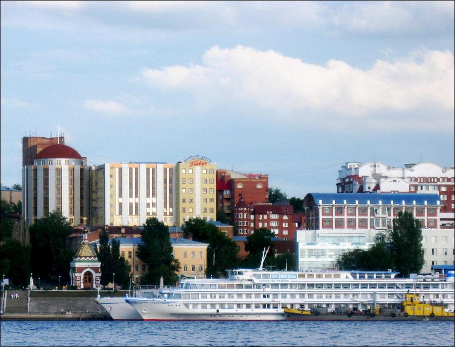 Samara city, Russia scenery