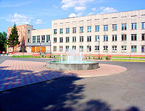Fountain in Abakan